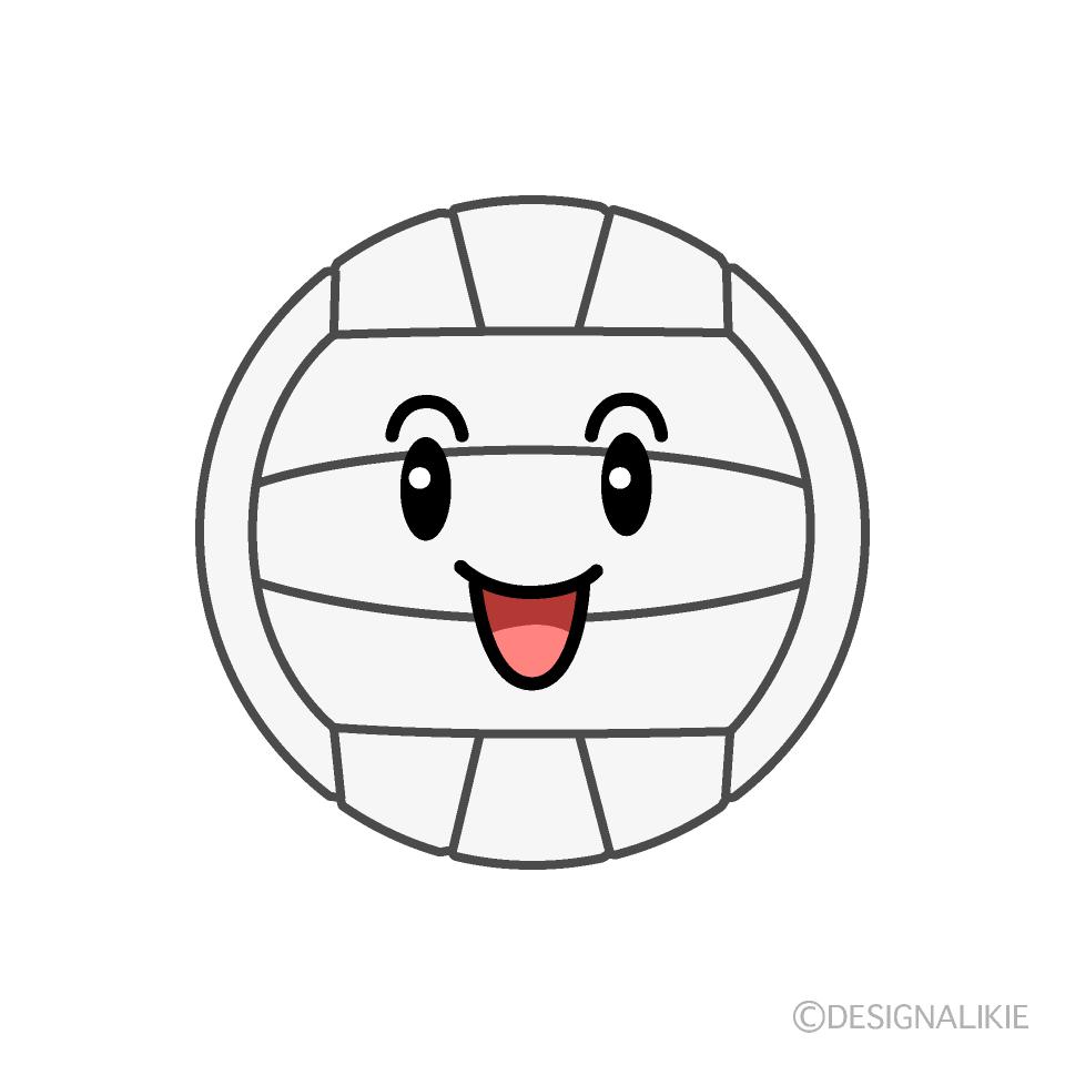 イラスト バレーボール