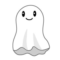 かわいいおばけの無料キャラクターイラスト素材集 Illustcute